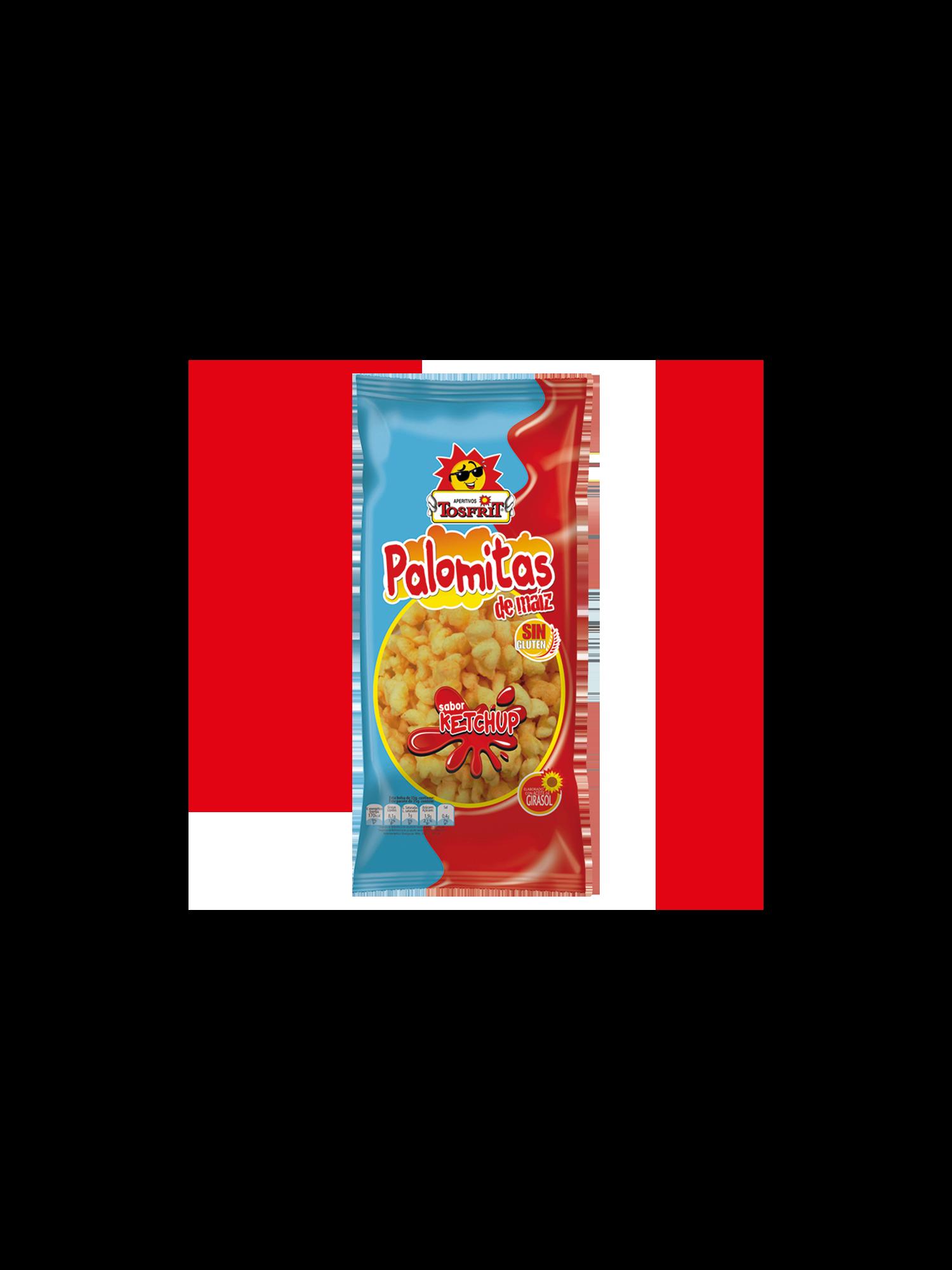 Palomitas ketchup