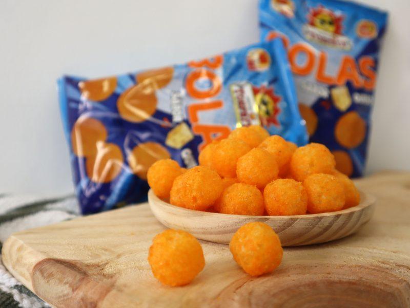 Nuevas Bolas sabor queso